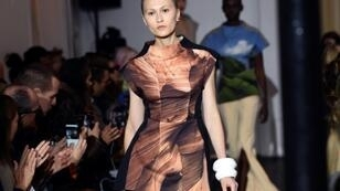 Ekaterina Ozhiganova, a Paris catwalk regular, co-founded the group Model Law to defend models' rights
