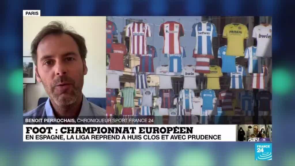 2020-06-11 15:11 Espagne : la Liga reprend, dans le silence et la prudence