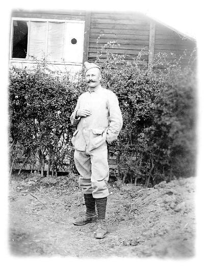 Le caporal Eugène Girard alors qu'il faisait partie du 174e régiment d'infanterie