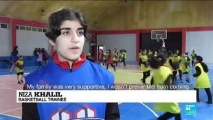 2021-02-24 08:24 Iraqi academy empowers women through sports
