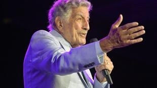 US singer Tony Bennett, shown here on tour in 2019, was diagnosed with Alzheimer's disease in 2016