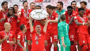 Le Bayern a été sacré une nouvelle fois en Allemagne.