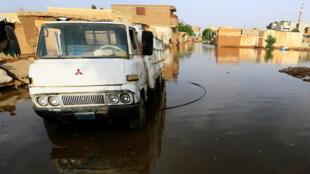 Khartoum Sudan record flooding