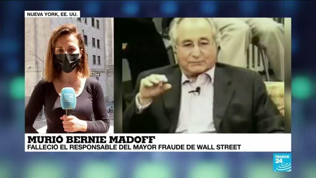 2021-04-14 19:06 Informe desde Nueva York: Madoff, autor de la mayor estafa piramidal de la historia de Wall Street