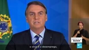 2020-04-09 12:10 Coronavirus au Brésil : Bolsonaro persiste dans le déni