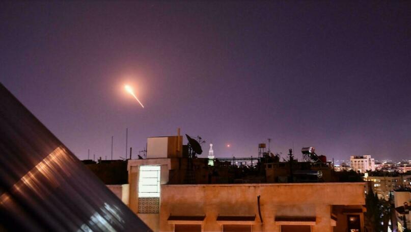 Syrie raid israel afp archive