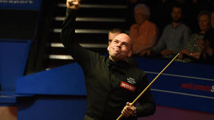 New balls please: Stuart Bingham blamed sanitised balls for a shaky finish to his first round victory at the World Championships on Saturday