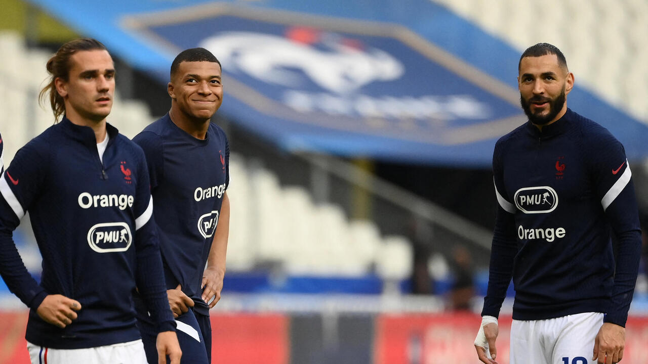 France's golden triangle of strikers a formidable asset in Euro 2021 campaign