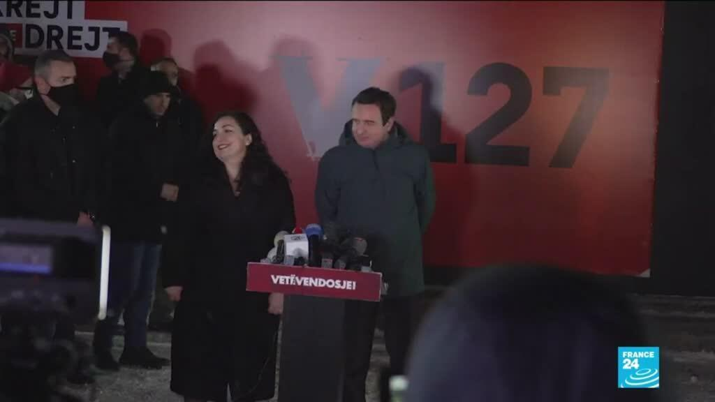 2021-02-15 10:35 Kosovo : un parti d'opposition gagne les élections législatives