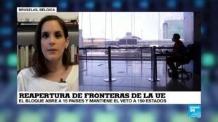 La vuelta al mundo de France 24 Reapertura fronteras