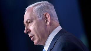 رئيس الوزراء الإسرائيلي بنيامين نتانياهو في واشنطن 10 تشرين الثاني/نوفمبر 2015