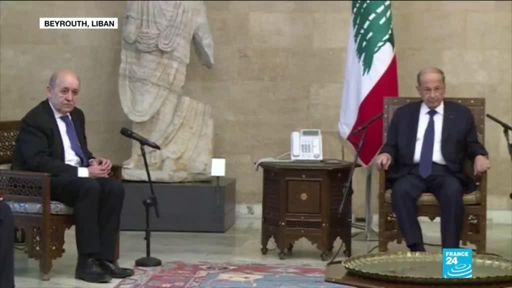 2021-05-06 16:01 Crise au Liban : le chef de la diplomatie française en visite à Beyrouth