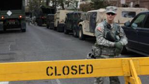 Une partie de la ville d'Hoboken est toujours fermée au public