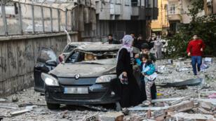 Les autorités locales ont imputé l'attaque aux séparatistes kurdes du PKK.