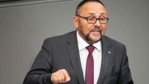 Le chef de l'AfD de la ville-État de Brême Frank Magnitz a été agressé lundi 7 janvier.
