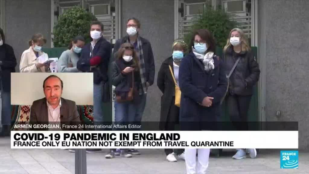 2021-07-29 10:05 France only EU nation not exempt from travel quarantine in UK