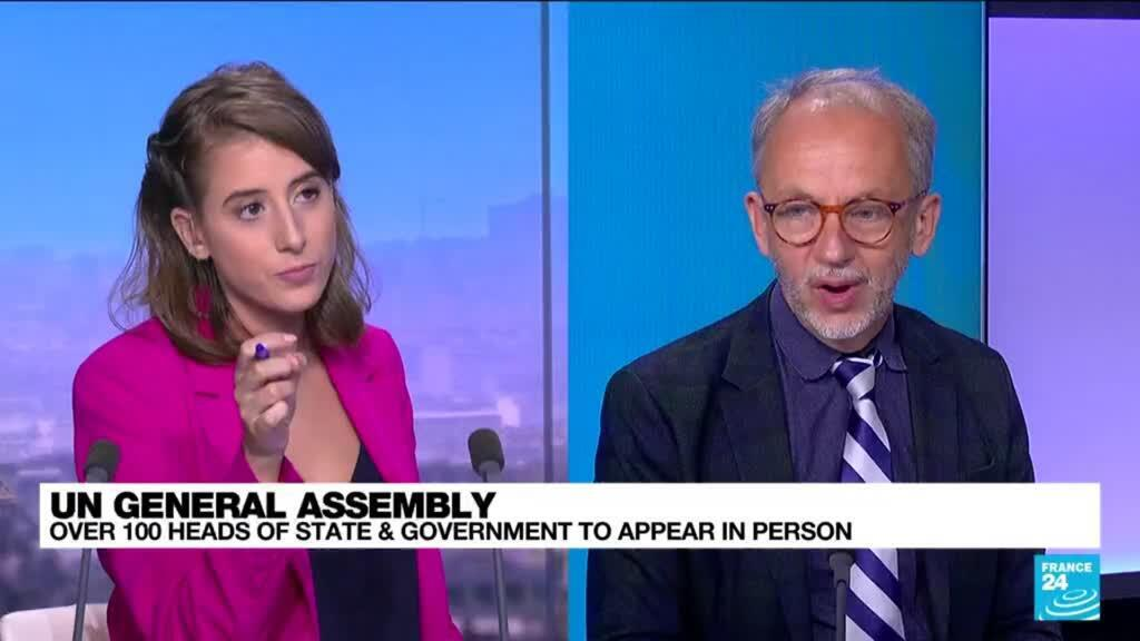 2021-09-21 14:31 UN General Assembly: Joe Biden will seek to reassure on US leadership