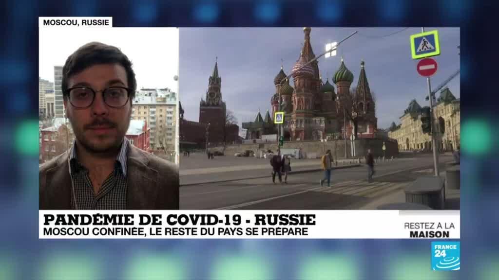 2020-03-30 13:00 Coronavirus : Moscou confinée, le reste du pays se prépare
