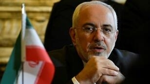 وزير الخارجية الإيراني محمد جواد ظريف في صورة ملتقطة في بروكسل في 11 كانون الثاني/يناير 2018