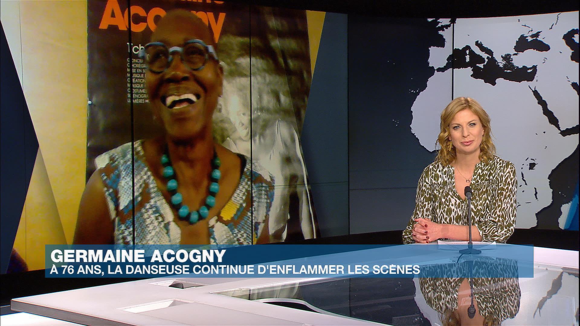 Germaine Acogny dans Afrique Hebdo