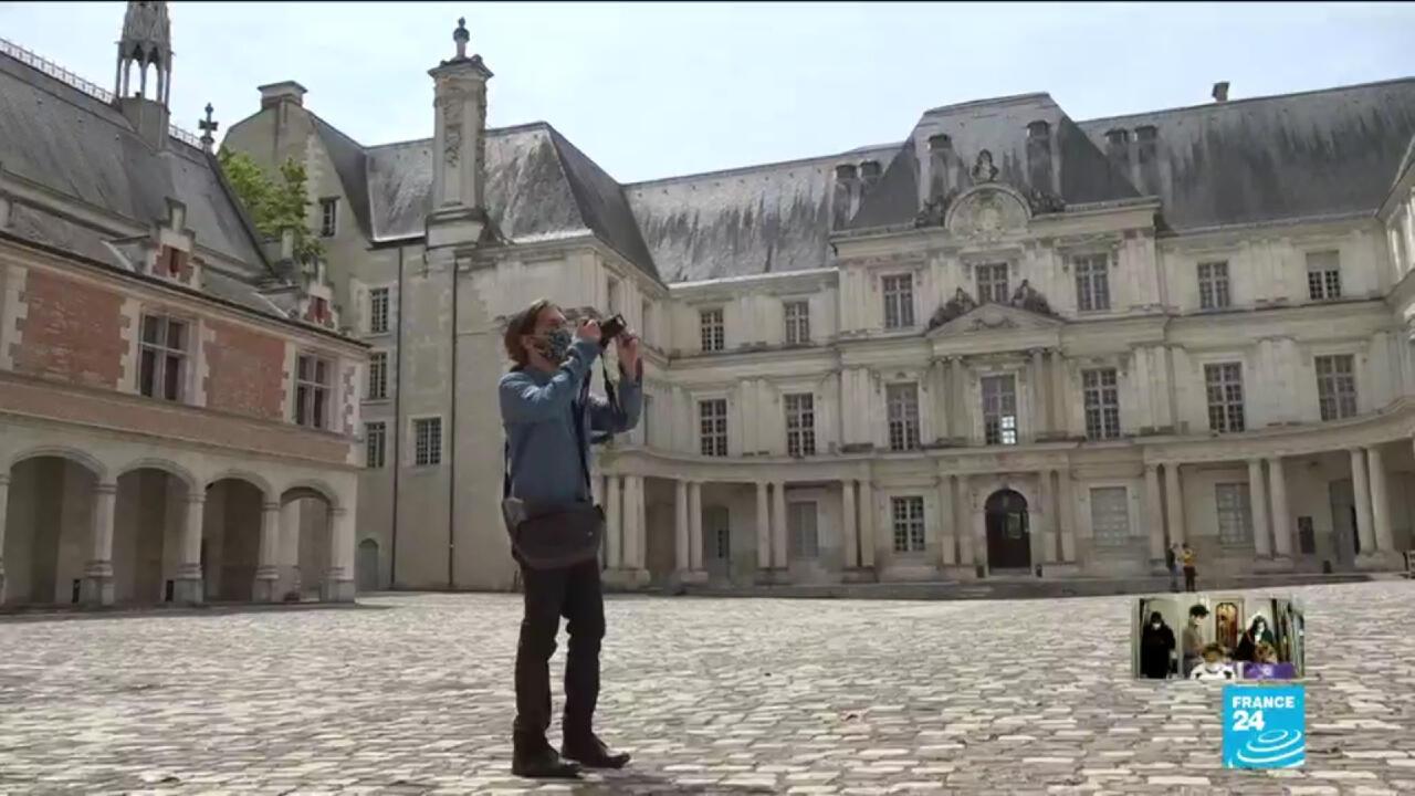Le château de Blois a rouvert ses portes samedi 16 mai.