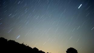 Pluie de météorites dans le ciel du sud de l'Espagne, le 13 août 2010