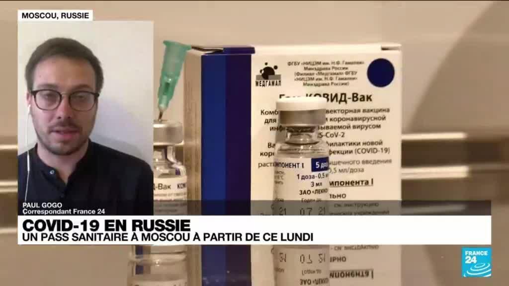 2021-06-28 13:09 Covid-19 en Russie : dépassé par le variant Delta, le pays met en place un pass sanitaire ce lundi