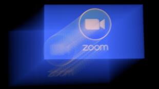Le logo de la plateforme Zoom