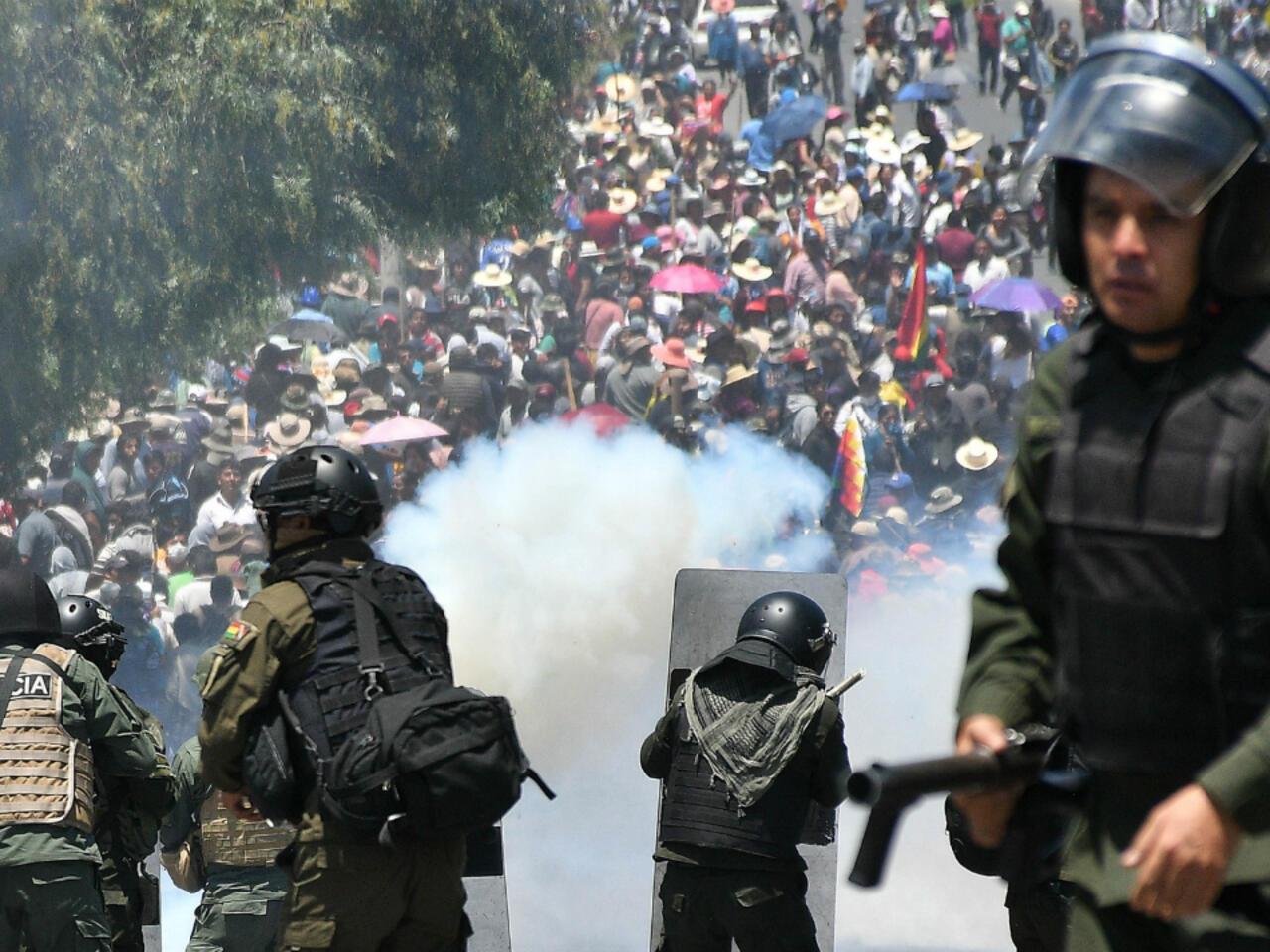 Bolivia dividida: cercos campesinos y bloqueos urbanos en siete regiones