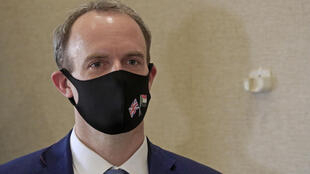File photo of British Foreign Secretary Dominic Raab