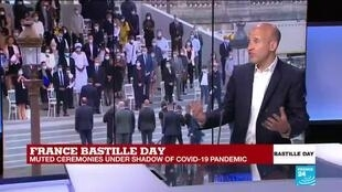 2020-07-14 12:04 France's Macron to give interview during scaled-down Bastille Day amid Covid-19 pandemic