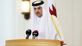 L'émir du Qatar Tamim ben Hamad Al Thani.