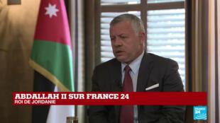 Le roi Abdallah II de Jordanie a accordé un entretien exclusif à France 24, dimanche 12 janvier à Amman.