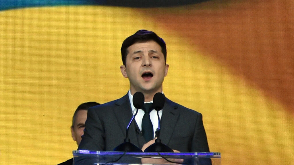 Ukraine takes leap into the unknown with new president Zelensky