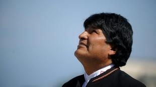 President Evo Morales -- seen in this file image -- wants to bring universal healthcare to Bolivia