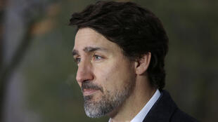 Canadian Prime Minister Justin Trudeau, pictured in March 2020, has stressed prudence as some provinces push to open back up, reminding Canadians that the country is not yet out of danger