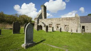 Le village déserté de Wharram Percy, dans le nord de l'Angleterre.