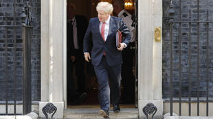 Boris Johnson marks his first anniversary as Britain's prime minister on Friday
