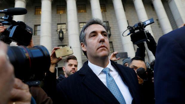 Michael Cohen, ex abogado del presidente de Estados Unidos Donald Trump, sale del Tribunal Federal después de declararse culpable de financiación ilícita de campañas, el 29 de noviembre de 2018.