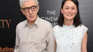 Woody Allen et Soon-Yi Previn à New York en juillet 2016