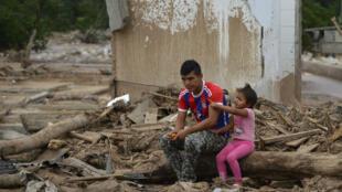 La coulée de boue a affecté au total quelque 45.000 habitants, d'après la Croix-Rouge.