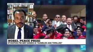 2019-10-11 18:05 Nobel Peace Prize :  Ethiopian PM Abiy Ahmed  awarded for peace initiative with Eritrea