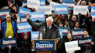 Bernie Sanders lanza su campaña a la presidencia de Estados Unidos en Brooklyn, Nueva York, el 2 de marzo de 2019.