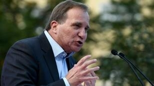 """Prime Minister Stefan Lofven has urged Swedes to vote for a """"stable government ... capable of leading Sweden in uncertain times."""""""