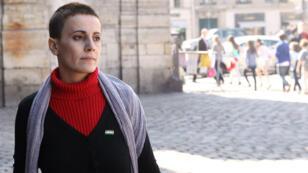 L'actrice Fadwa Suleimane à Paris, le 26 mars 2012.