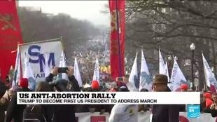 2020-01-24 14:38 Trump to become first president to attend pro-abortion rally