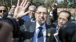 Le Premier ministre marocain Saad Eddine El Othmani au lendemain de sa nomination, le 18 mars dernier.