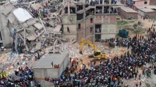 La catastrophe de Savar, dans la banlieue de Dacca