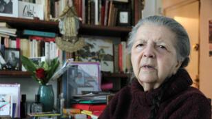 Soixante et onze ans après la fin de la Seconde Guerre mondiale, l'ancienne résistante s'étonne toujours qu'on vienne la trouver pour parler de cette période.