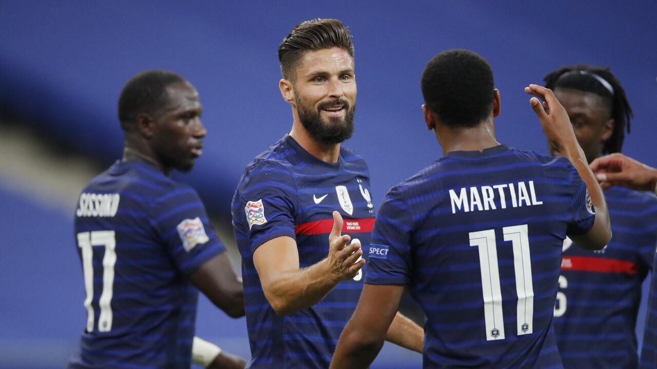 France Croatie ligue nations